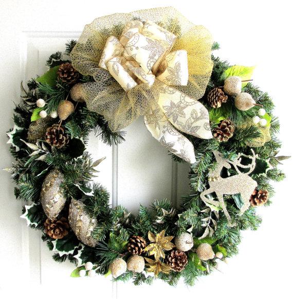 Коледен венец | Art senses - артистични идеи за интериор и градина