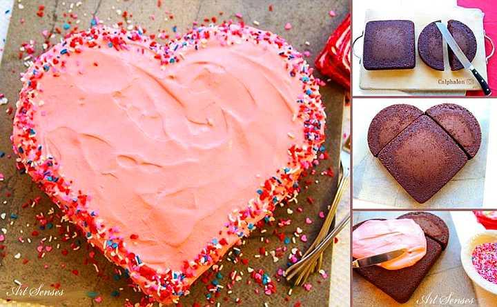 """Торта за """"Свети Валентин"""""""