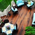 Tarima exterior - plataformas de madera