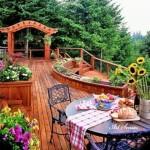 裝飾或木製平台