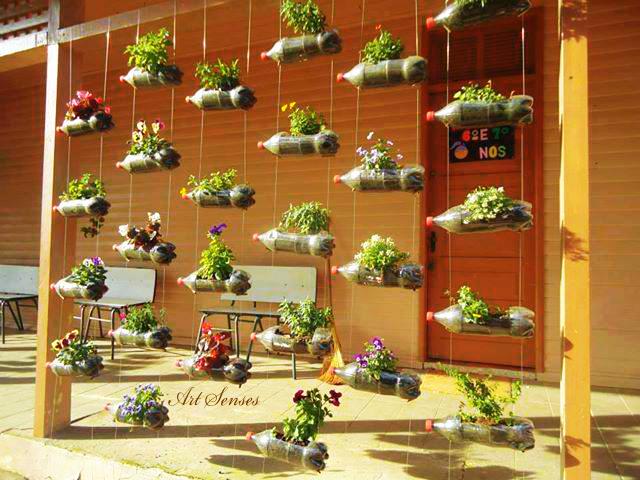 Viseći vrt od plastičnih boca