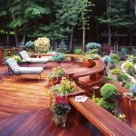 Plataformas o plataformas de madera