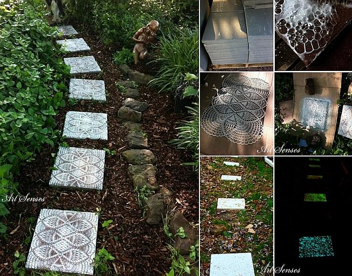 Артистична градинска пътека