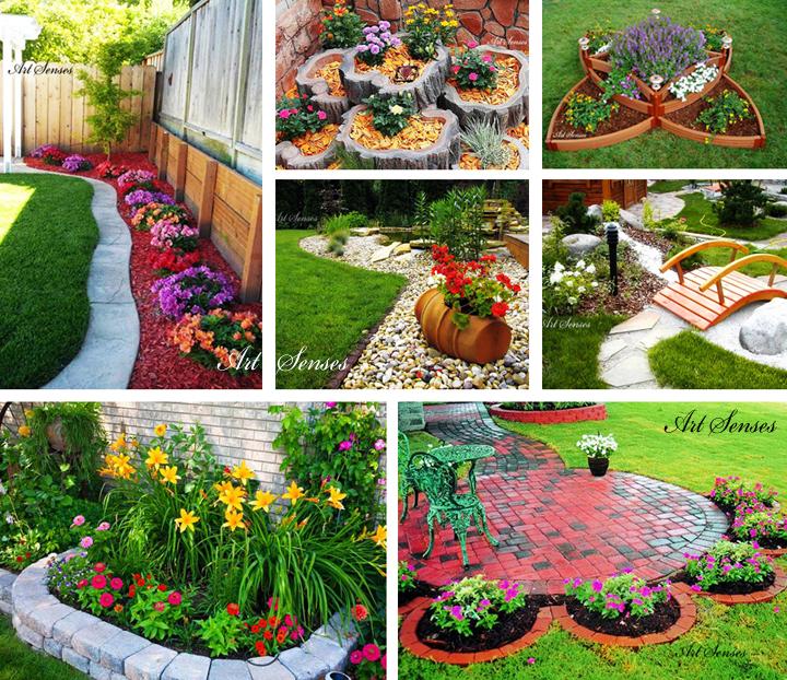Ötletek egy gyönyörűen kialakított kerthez