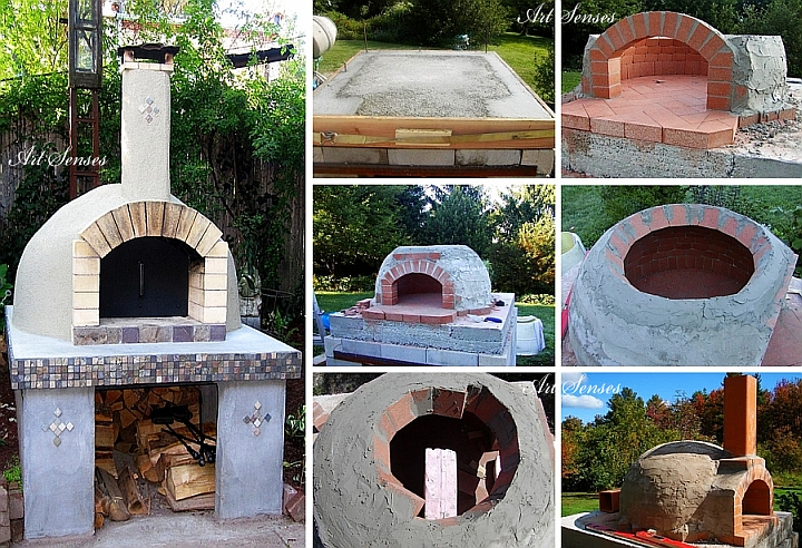 Make yourself a garden pizza oven