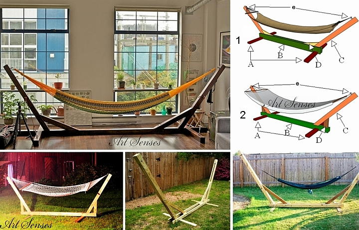 Do it yourself hammock stand
