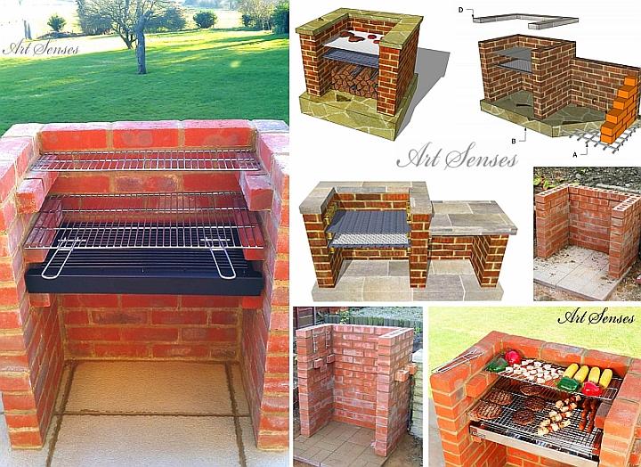 Maacht et selwer Gaart Barbecue