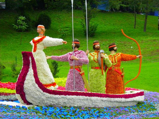 Blumenausstellung - Kiew