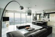 Красив панорамен апартамент в Москва (10)