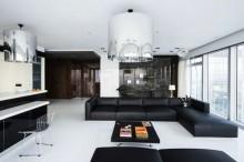 莫斯科(9)美丽的全景公寓