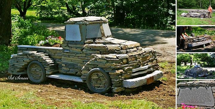 """Проектът """"Камион от камък"""""""
