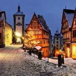 Градове, особено красиви през зимата (7)