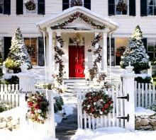 Decorarea exterioară de Crăciun (1)
