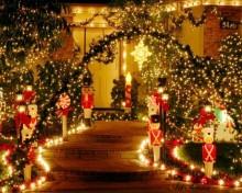 Decorarea exterioară de Crăciun (11)