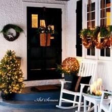 Decorarea exterioară de Crăciun (3)