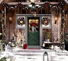 Decorarea exterioară de Crăciun (4)
