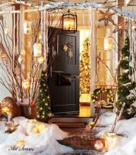 Decorarea exterioară de Crăciun (7)