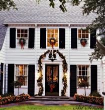 Decorarea exterioară de Crăciun (9)