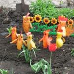 Korištene plastične boce umjetnosti ili PET-art (10)