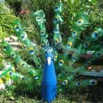 Korištene plastične boce umjetnosti ili PET-art (3)