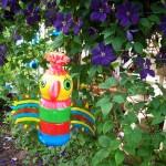 Korištene plastične boce umjetnosti ili PET-art (4)