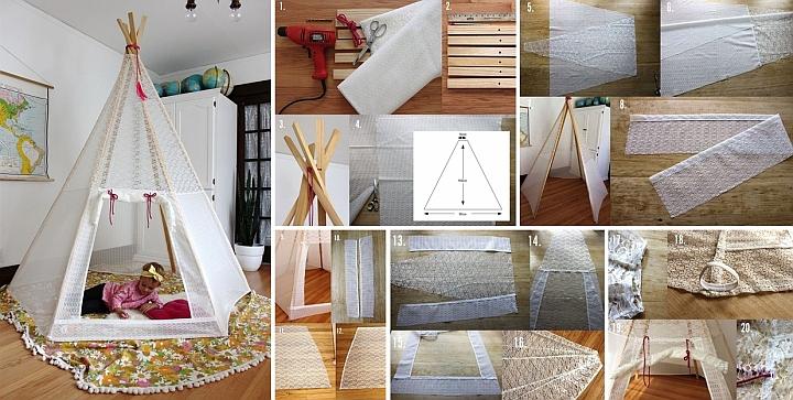 Napravite sebi indijski šator tipi