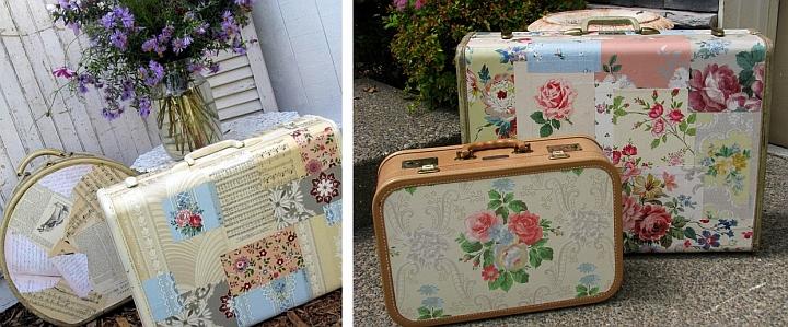 把你的旧皮箱变成一个漂亮的野餐包