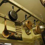 Нестандартна употреба на старата стълба в кухнята7