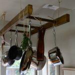 Нестандартна употреба на старата стълба в кухнята6