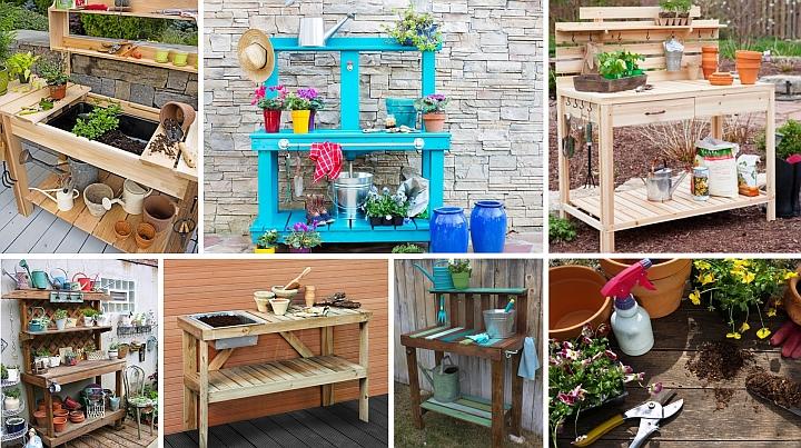 اصنع طاولة حديقتك الخاصة بزراعة الأعضاء وزرعها (3)