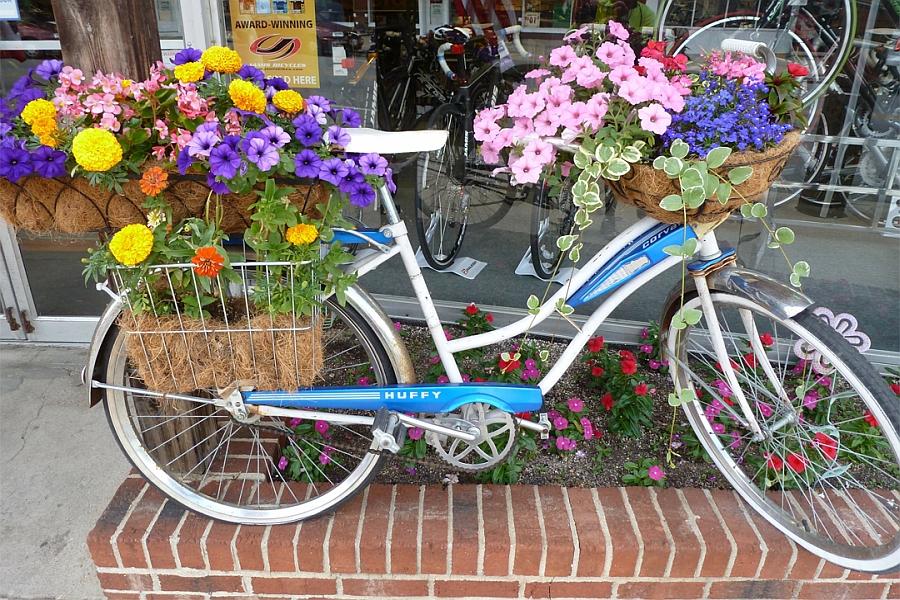 украшенный велосипед картинки настоящее