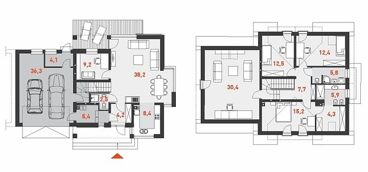 طراحی نقاشی خانه ساده