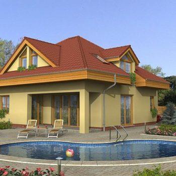 Красива къща с 4 спални, двоен гараж и басейн