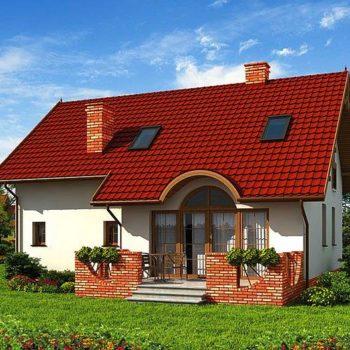 Красива къща с 3 тавански спални и гараж