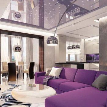 Интериорен дизайн – идеи в лилаво-виолетово