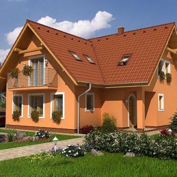 Красива къща с мансарда, пет спални и басейн