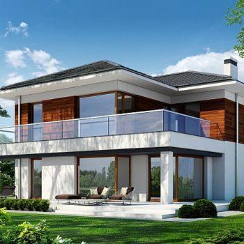 Великолепна двуетажна къща с 4 спални и голям гараж