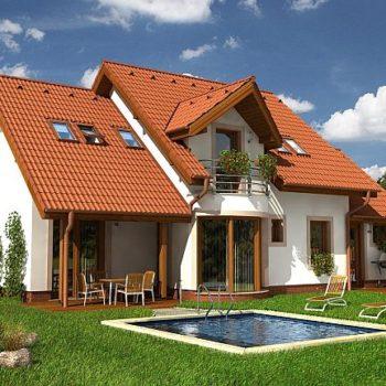Прекрасна къща с 5 спални, гараж и басейн