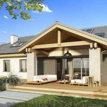 Проект на къща с мансарда и 6 спални