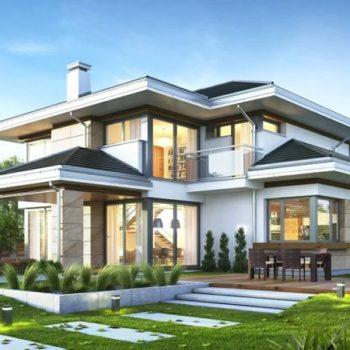 Проект на великолепна двуетажна къща