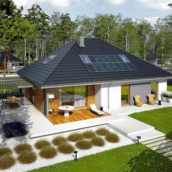 Проект на перфектна къща с мансарда и 4 спални