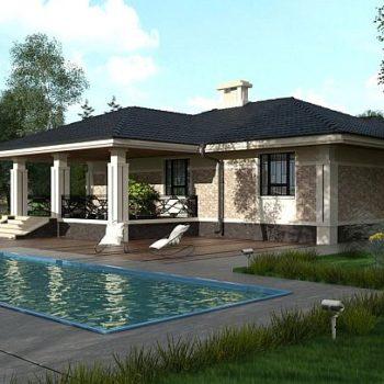 Модеран пројекат прекрасне двособне куће