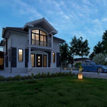 Prestižní dvoupodlažní dům s podzemním podlažím