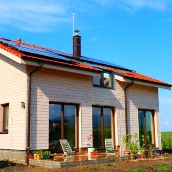 자연에 대한 배려와 건강한 라이프 스타일이 결합 된 집