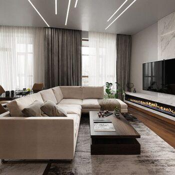 Design interiéru - nápady pro použití mramoru