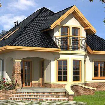 一个美丽的阁楼房子,有4间卧室和一个车库的项目